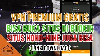CARA MUDAH MENGGUNAKAN VPN PREMIUM GRATISS & AMAN DI HP ANDROID / BAGAIMANA MEMBUKA SITUS DIBLOKIR ? screenshot 3