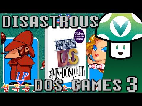 [Vinesauce] Vinny - Disastrous DOS Games 3