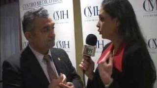 Marbella te Quiero 30/01/2011 Rueda de prensa por el Centro Medico Hilu entrevista por Muriel