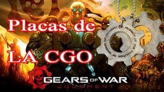 """Gears of War Judgment - Localizacion de las 48 Placas de la CGO ( Logro """"Respeto a los caidos"""")"""