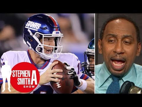 Stephen A.: Eli Manning\'s \'game is shot,\' Giants\' season is \'over\'   Stephen A. Smith Show