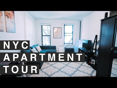 NYC STUDIO APARTMENT TOUR! 300 sq. foot in MANHATTAN