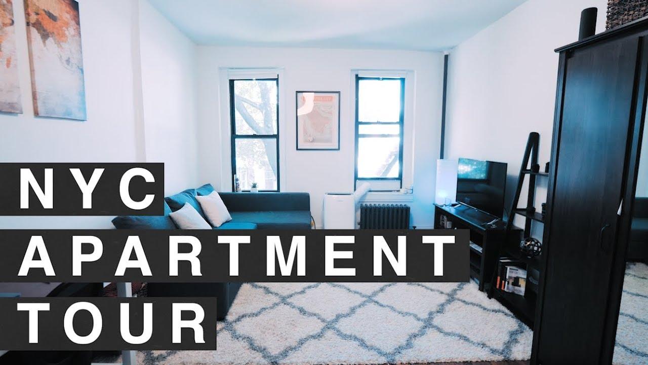Nyc Studio Apartment Tour 300 Sq Foot In Manhattan