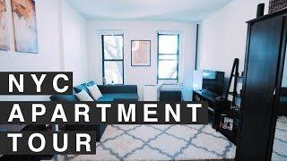 NYC STUDIO APARTMENT TOUR! 300 sq. foot in MANHATTAN