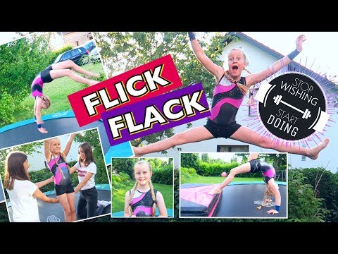 vom Bogengang zum FLICK FLACK💥Mavie's Turnstunde Turnen Trampolin Anfänger
