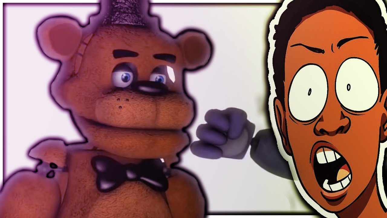 FREDDY NEEDS TO STOP... || FNAF TRY NOT TO LAUGH 2# (REACT)