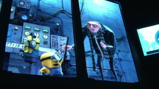 Despicable Me Minion Mayhem Ride Queue & Full Pre-Show, Universal Studios Orlando - Gru, Agnes, More