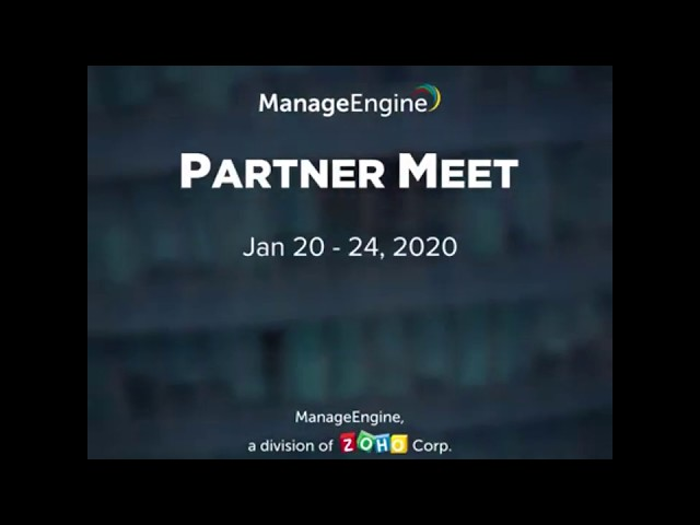 ManageEngine Partner Meet 2020