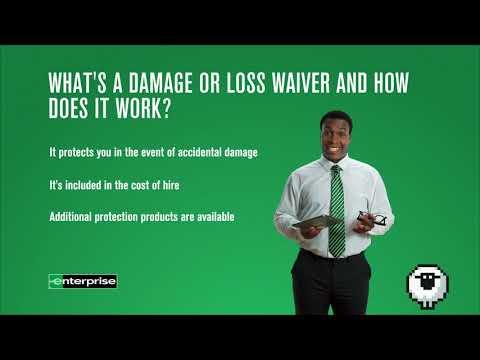 Rental Essentials Episode 10 - The Damage/Loss Waiver | Enterprise Rent-A-Car