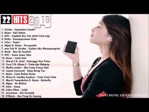 Free Download Lagu Indonesia Terbaru 2016 - 22 Hits Terbaik Juni 2016 Mp3 dan Mp4
