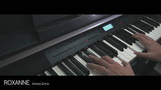 Arizona Zervas - Roxanne Piano Cover видео