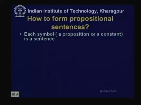 Lecture - 11 Knowledge Representation and Logic