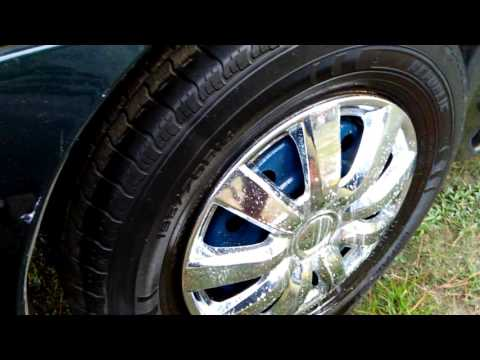 How to maintain your hubcaps useing a dollar tree cleaner and car wax