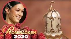 FINALE: Edler Pistazien-Kuchen mit frischen Erdbeeren   Das große Promibacken 2020   SAT.1