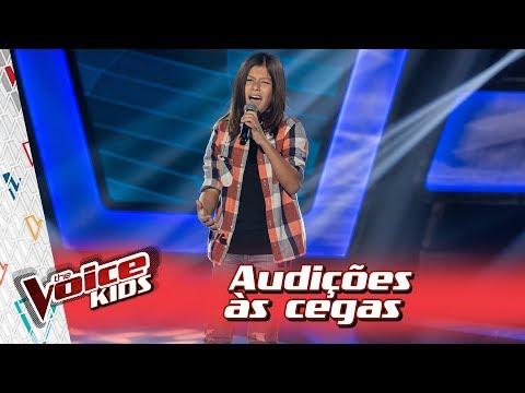 João Guilherme canta 'See You Again' na Audição – 'The Voice Kids Brasil' | 3ª Temporada