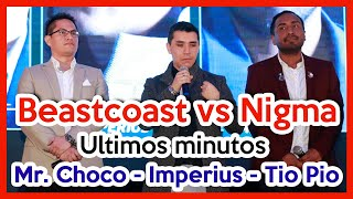 [CASTERS] Beastcoast vs Nigma - Ultimos Minutos (Mr. Choco, Imperius, Tio Pio) BO3 - Game 3