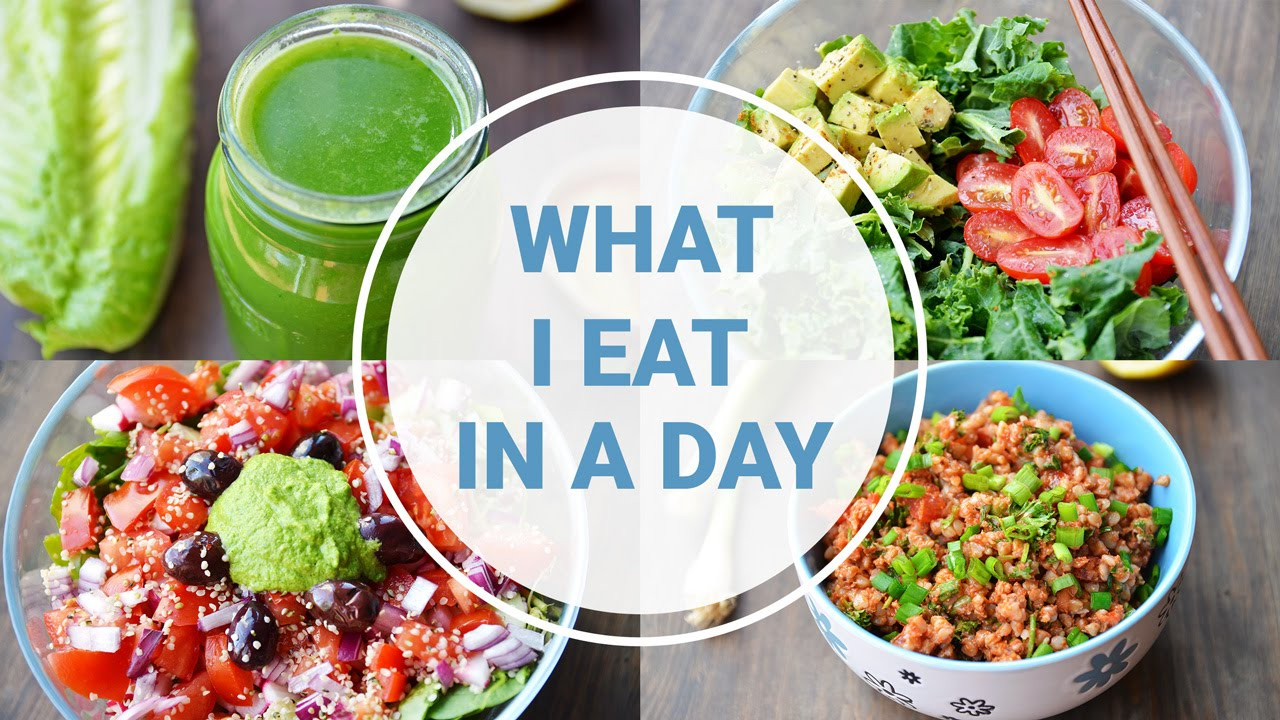 What i eat in a day healthy vegan recipes youtube forumfinder Gallery