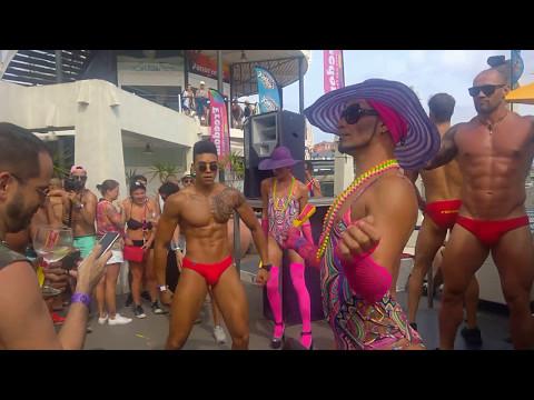 Maspalomas Gay Pride 2017 Gogo Dancers Nataya at Acquabeachclub from YouTube · Duration:  12 minutes 8 seconds