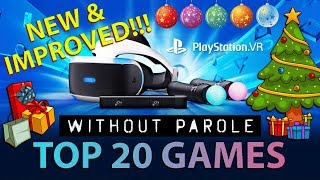 Top 20 PlayStation VR Games | December 25. 2018