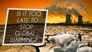 How do we stop global warming and should we even do it? Is it too late?