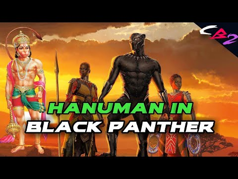 LORD HANUMAN reference in BLACK PANTHER || EXPLAINED in HINDI