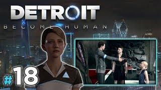 "DETROIT: Become Human [PS4] #18 - ""Empatia i Marsz Wolności"""