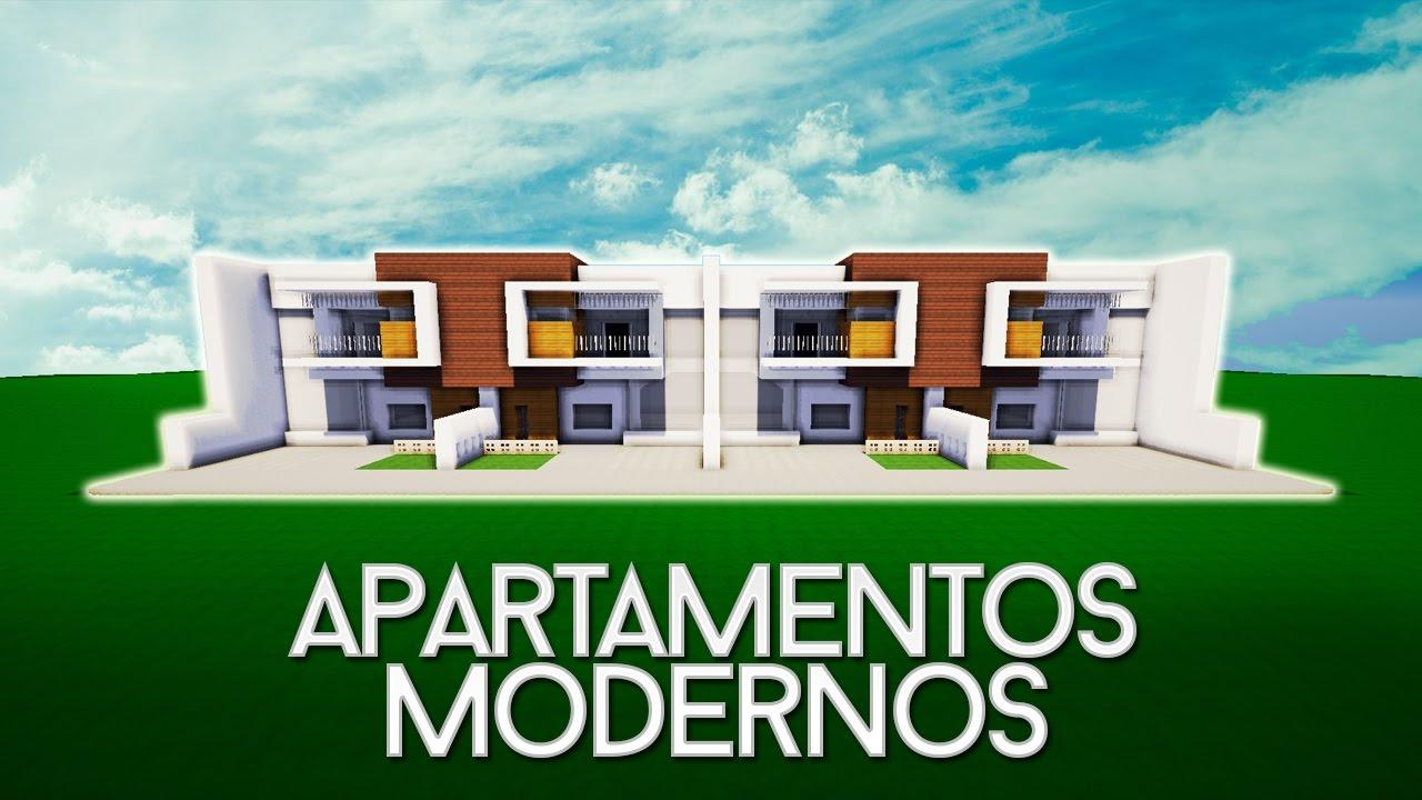 minecraft c mo construir unos apartamentos modernos