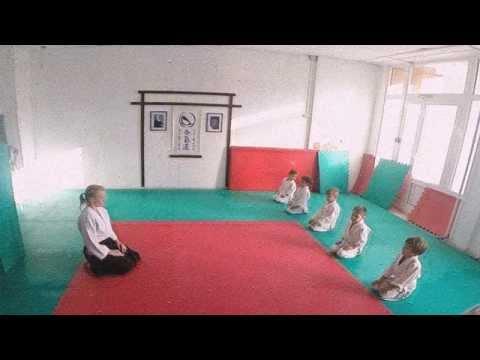 Айкидо. Открытый урок. Малыши 4-5 лет.