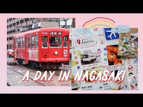 Japan Travel Vlog 1: Nagasaki + Hobonichi Techo With Me   Rainbowholic 🏮