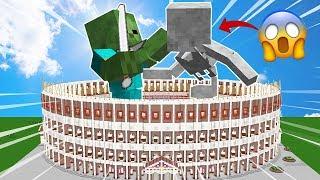 ⚠ ZOMBIE TITAN VS ESQUELETO TITAN 😱💥 ¿ME MATAN EN CREATIVO DE UN GOLPE? | COLISEO #5
