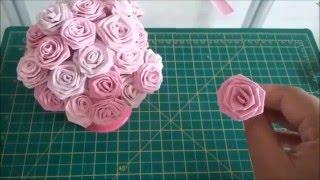 DIY: Como Fazer Rosas de Papel