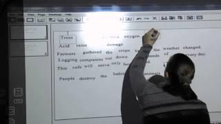 Фрагмент урока английского языка с использованием интерактивной доски в К.-Днепровском НВК.