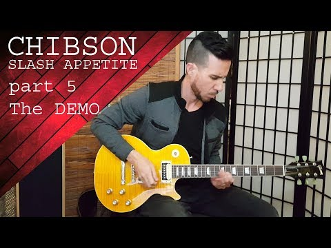 Chinese Gibson Slash Appetite for Destruction Guitar – Part 5: Demo