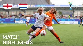 England v Netherlands - FIFA U-20 Women's World Cup France 2018 - Match 27
