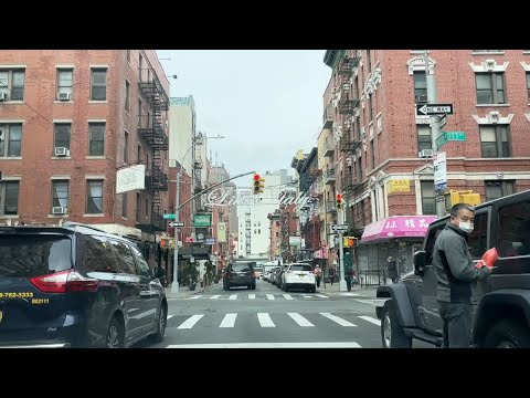 LIVE Driving JFK Airport to Brooklyn To New York City Roundtrip On A Gloomy Wednesday March 24-2021