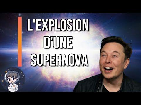 L'EXPLOSION D'UNE SUPERNOVA - Le Journal de l'Espace #54 - Actualité spatiale - Culture générale