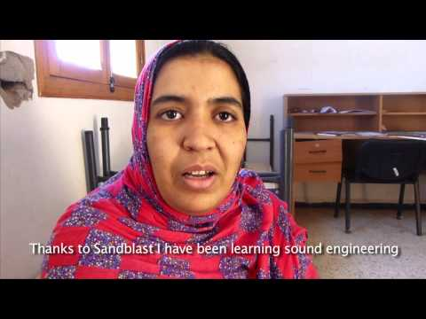 Studio-Live training workshops in the Saharawi refugee camps
