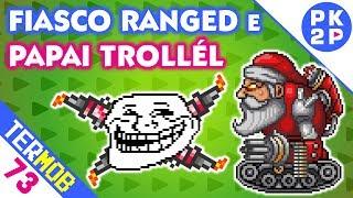 Papai Noel Troll e o Fogo não Compensa! • Terraria Mobile #73