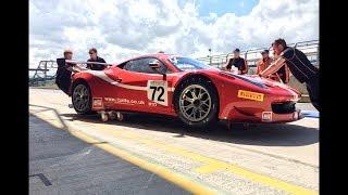 Silverstone 2014 GTC Race GT Cup Ferrari 458 GT and Mclaren 12C GT