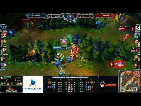 H2k Gaming vs Team Property Map 2 - DreamHack Bucharest 2013