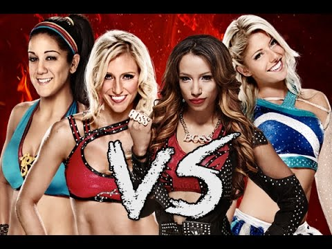 WWE 2K15: Bayley Vs Sasha Banks Vs Alexa Bliss Vs Charlotte Flair