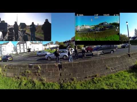 Long Range TBS build & maiden mile flight, 2.4ghz Lawmate video with EzUHF That HPI Guy