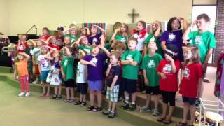 "Elk River VBS: ""Zacchaeus Was a Wee Little Man"""