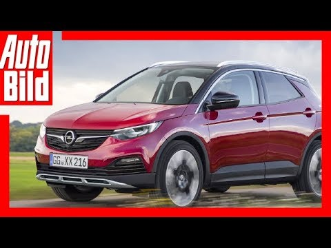 Zukunftsaussicht Opel Mini Suv 2019 Youtube