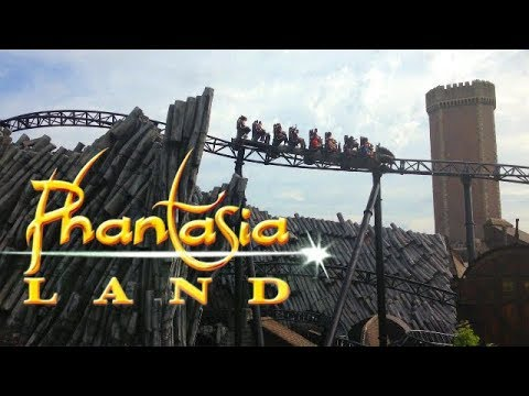 The Best of Phantasialand | Brühl, Germany Theme Park | Phantasialand parkvideo 2019