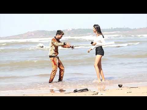 Romance On Beach With Cute Girl Prank{Gone Romantic}||Raju Bharti ||Bharti Prank||
