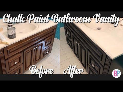 Chalk Paint Bathroom Vanity | Bathroom DIY
