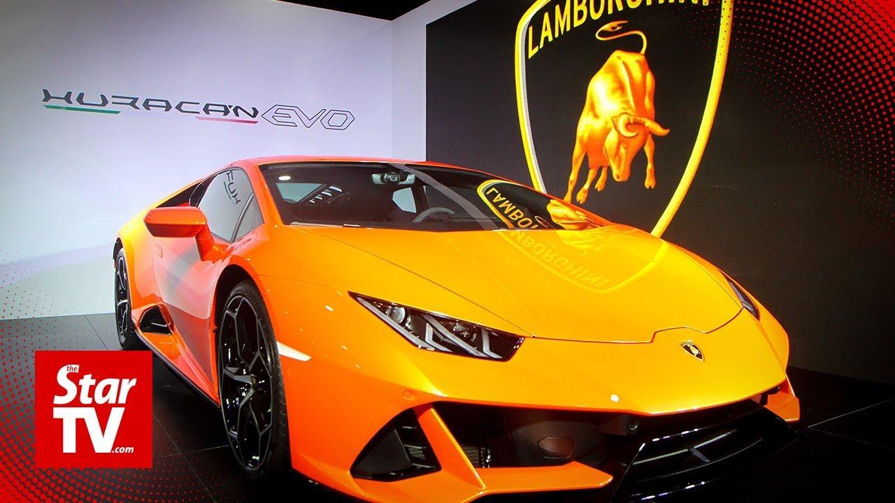 Lamborghini Huracan Evo Debuts In Malaysia Youtube
