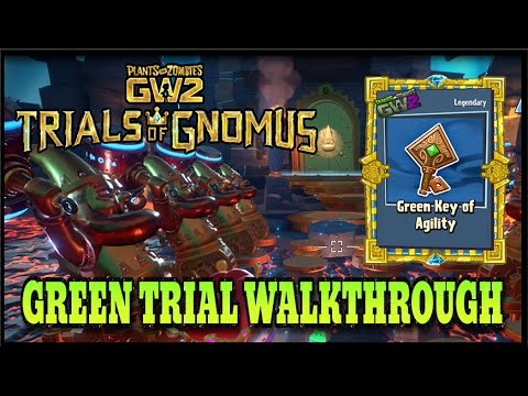 Plants Vs Zombies Garden Warfare 2 Green Trial Of Balance Solution Walkthrough Youtube