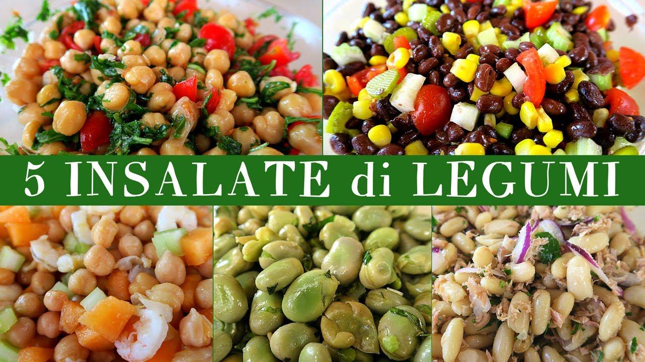 Buffet Di Insalate Miste : Insalate di legumi ricetta facile per insalata fredda di ceci
